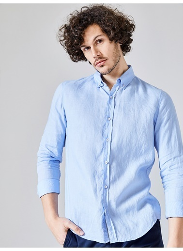Xint Uzun Kollu Gömlek Lila